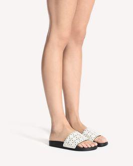 REDValentino FLOWER PUZZLE 拖鞋式凉鞋