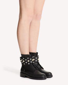 REDValentino FLOWER PUZZLE 军靴