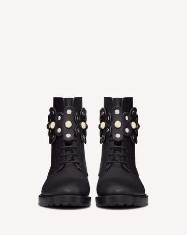 REDValentino SQ2S0C56LMT 0NO 长靴与短靴 女士 d