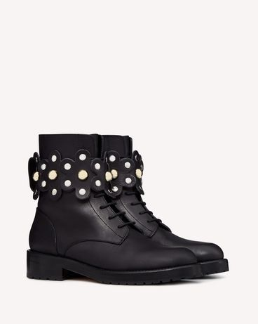 REDValentino SQ2S0C56LMT 0NO 长靴与短靴 女士 f