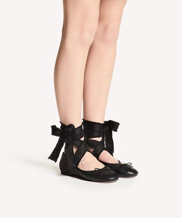 REDValentino SQ0S0C80UHL 0NO 高跟鞋与芭蕾鞋 女士 b