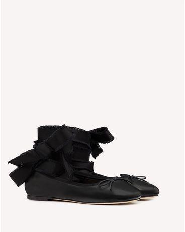 REDValentino SQ0S0C80UHL 0NO 高跟鞋与芭蕾鞋 女士 f