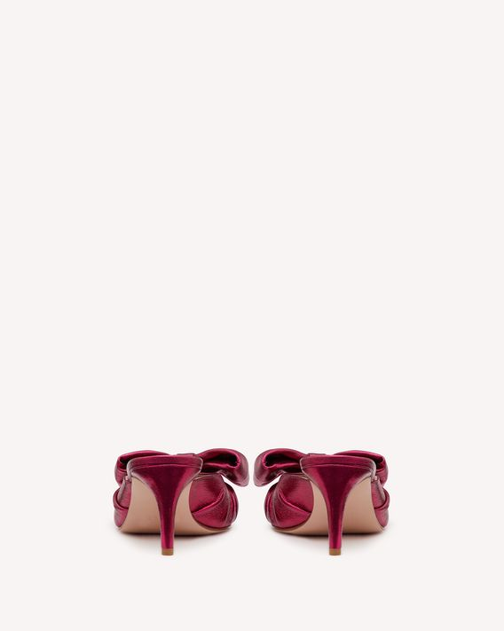 REDValentino 蝴蝶结穆勒鞋