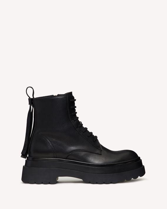 REDValentino LYERED  军装靴