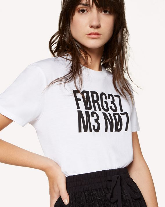 """REDValentino """"Forget Me Not""""印纹 T 恤"""