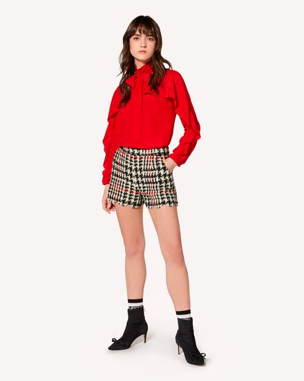 REDValentino 衬衫 女士 SR3ABB2023H D05 d