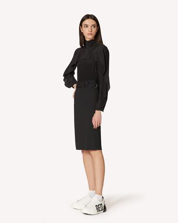 REDValentino SR3ABB2023H 0NO 衬衫 女士 d