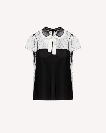 REDValentino SR3AA0U74GS 0MG 衬衫 女士 a