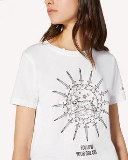 "REDValentino ""Blooming Love""印纹 T 恤"