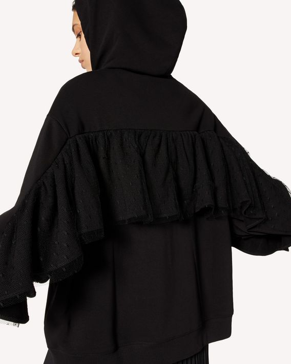 REDValentino 褶饰细节卫衣