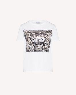 REDValentino 蝴蝶印纹 T 恤