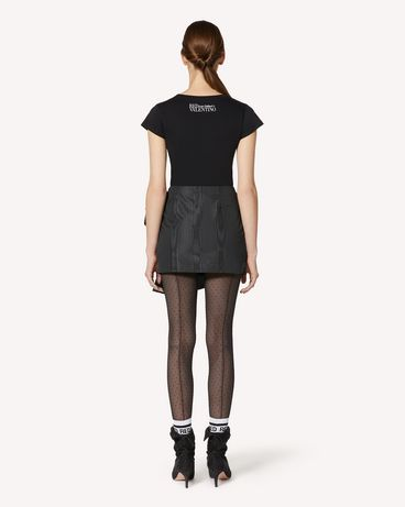 REDValentino UR3MG07J5AM 0NO T-SHIRT 女士 r