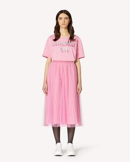 REDValentino Extremely Pink 印纹 T 恤