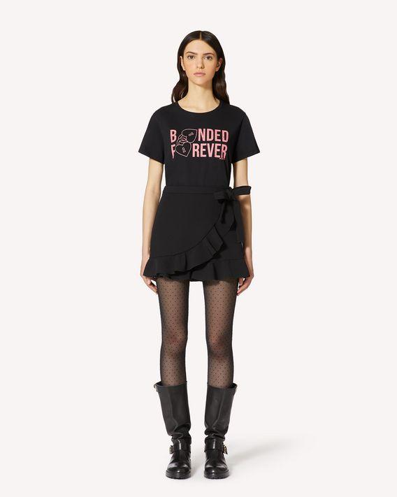 REDValentino Bonded Forever 印纹 T 恤