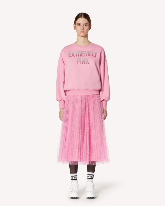 REDValentino Extremely Pink 印纹卫衣