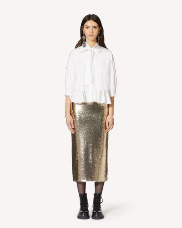 REDValentino UR0ABE300ES 001 衬衫 女士 f