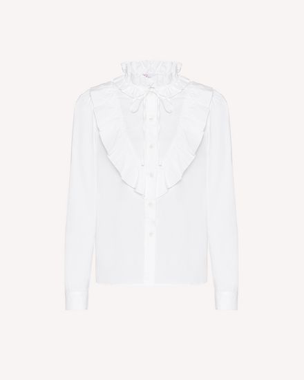 REDValentino 衬衫 女士 UR0ABE350ES 001 a