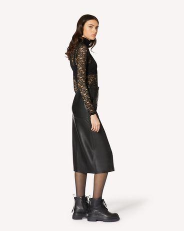 REDValentino 平纹针织蕾丝上衣