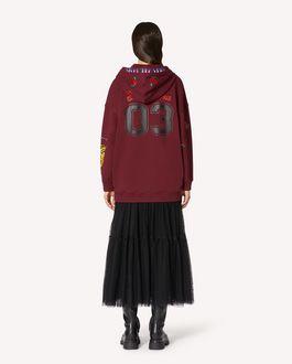 REDValentino Arcade 图案印纹卫衣