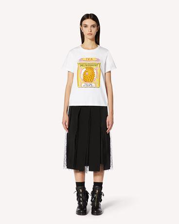 REDValentino Tea Boxes 印纹 T 恤