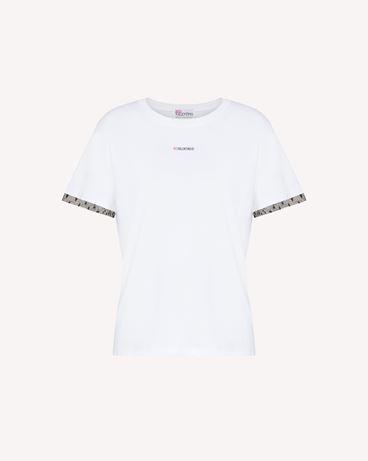 REDValentino T 恤点缀 REDValentino 印纹