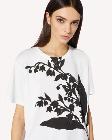 REDValentino 铃兰印纹 T 恤