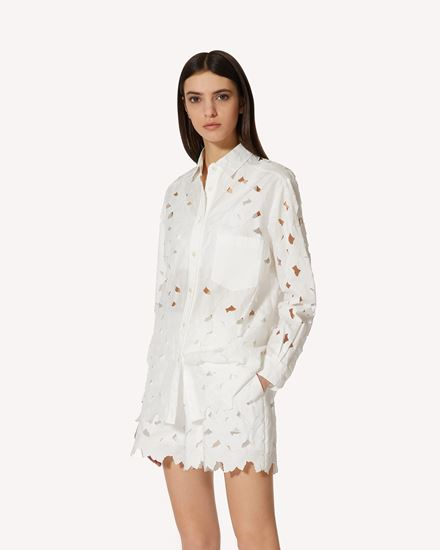 REDValentino 衬衫 女士 VR0AB03U5TB 0BO d
