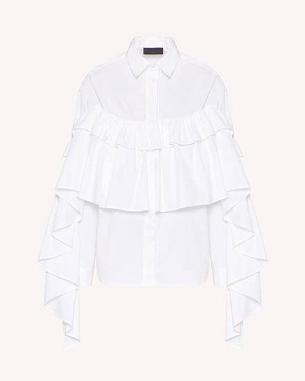 REDValentino 衬衫 女士 VR0ABG550ES 001 a