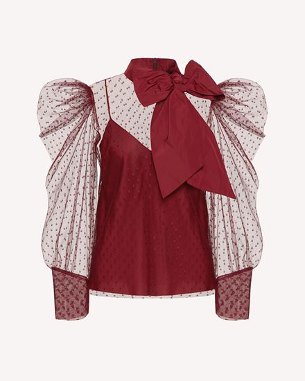 REDValentino 衬衫 女士 WR3ABG4062H AR0 a