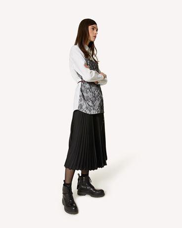 REDValentino 棉质府绸与蕾丝衬衫