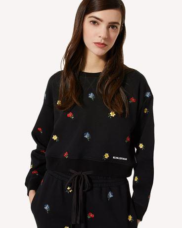 REDValentino Delicate Flowers 刺绣卫衣