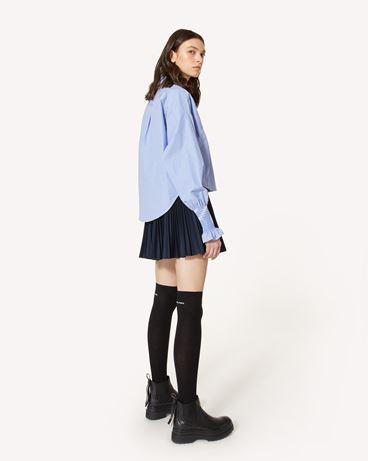 REDValentino 条纹棉质衬衫