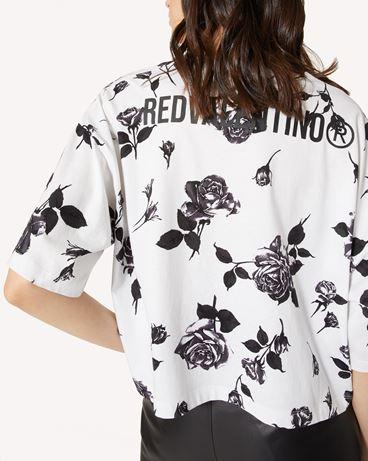 REDValentino Rose 印纹 T 恤