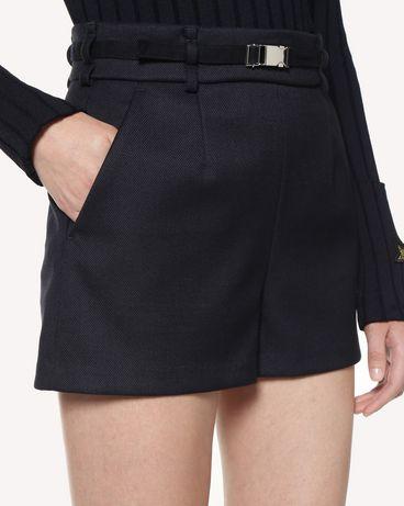 REDValentino RR3RFA701Y1 B01 短裤 女士 a