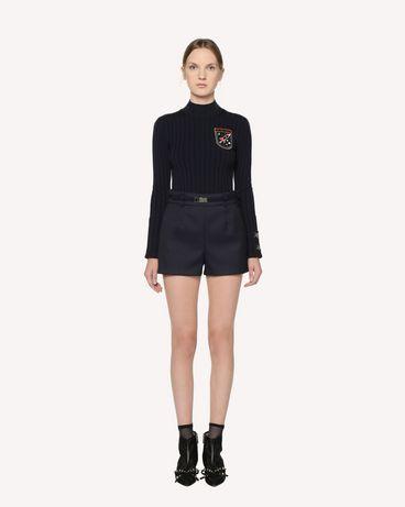 REDValentino RR3RFA701Y1 B01 短裤 女士 r