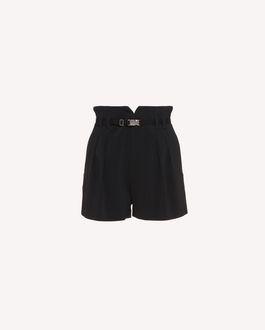 REDValentino 搭扣装饰弹力 Frisottino 短裤