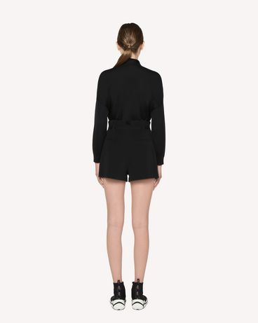 REDValentino RR3RFA652EU 0NO 短裤 女士 r