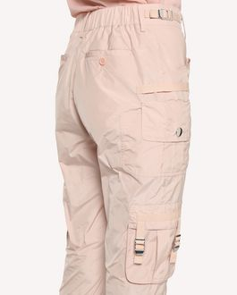 REDValentino 科技塔夫绸工装裤