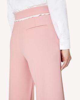 REDValentino 褶饰细节科技卡迪九分裤