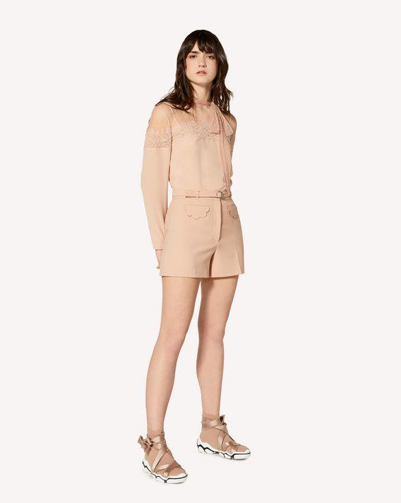 REDValentino 限定款  扇形细节科技卡迪短裤