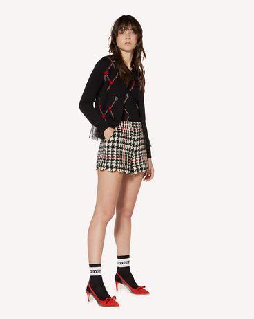 REDValentino SR3RFB35499 0NO 短裤 女士 d