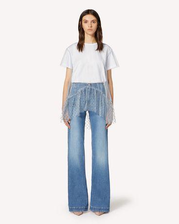 REDValentino TR3DD01L4TT 568 裤装 女士 f