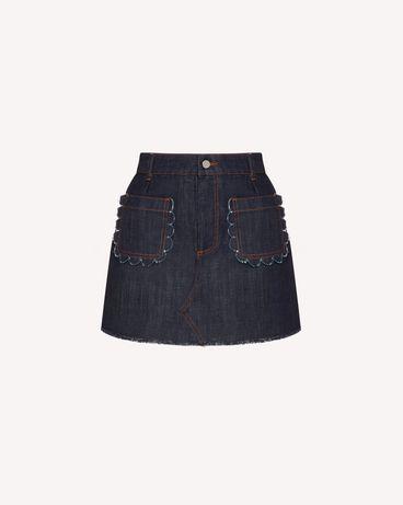 REDValentino TR3DD01T4U1 528 短裤 女士 a