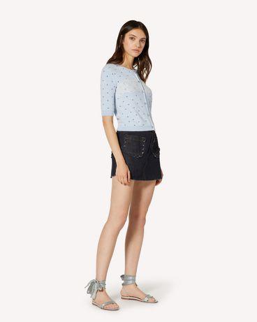 REDValentino TR3DD01T4U1 528 短裤 女士 d