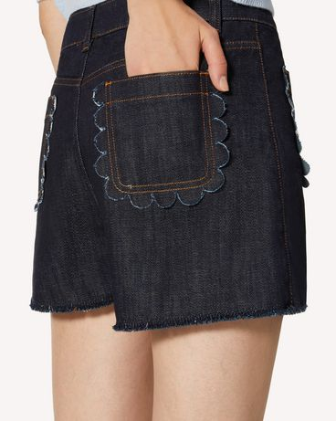 REDValentino TR3DD01T4U1 528 短裤 女士 e