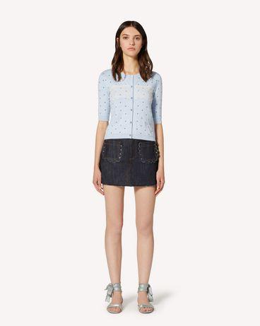 REDValentino TR3DD01T4U1 528 短裤 女士 f