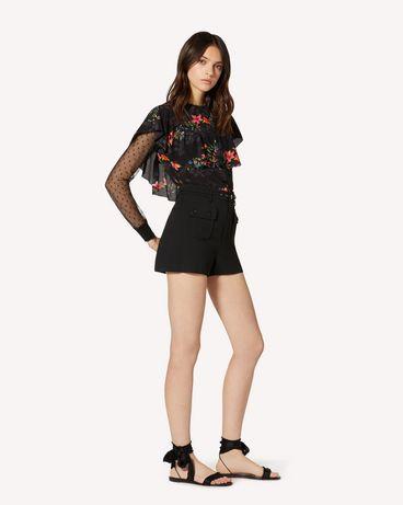 REDValentino TR3RFC80WBP 0NO 短裤 女士 d