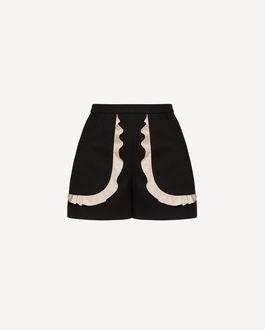 REDValentino 短裤 女士 TR3RFC853M7 0NO a
