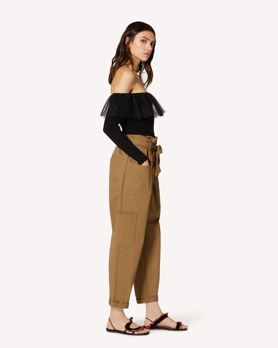 REDValentino 华达呢工装裤