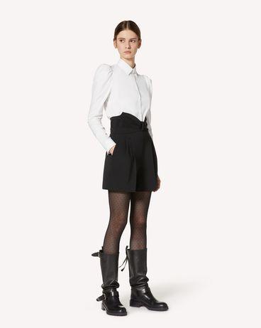 REDValentino UR3RFD5500J 0NO 短裤 女士 d